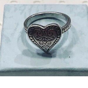 Brighton size 6 heart ring